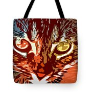 Eyes Of The Kitty Tote Bag