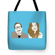 Pop Art Pals Tote Bag