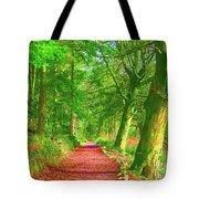 Pop Art Path Tote Bag