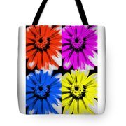 Pop Art Petals Tote Bag