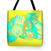 Pop Art Pileup Tote Bag