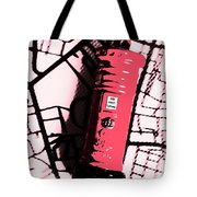 Pop Art Pillar Post Box Tote Bag
