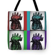 Pop Art Rooters Tote Bag