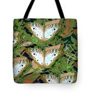 Pop Butterfly's Work Number Three Tote Bag