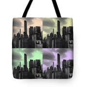 Pop City Tote Bag