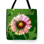 Pop Flower Work Number 23 Tote Bag