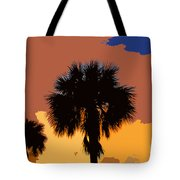 Pop Palms Tote Bag