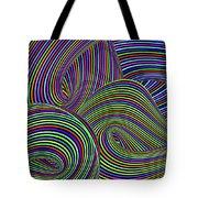 Pop Swirls Tote Bag