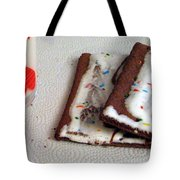 Pop Tarts And Milk Tote Bag