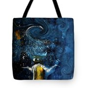 Pop The Champagne Top By Lisa Kaiser Tote Bag