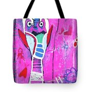 Pop Up Friend Tote Bag