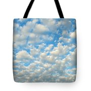 Popcorn Clouds Tote Bag