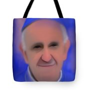 Pope Francis Peaceful Tote Bag