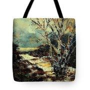 Poplars 45 Tote Bag