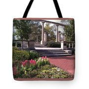 Popp Fountain Brickway Path Tote Bag