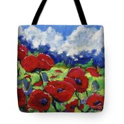 Poppies 003 Tote Bag