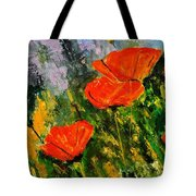 Poppies 107 Tote Bag