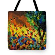 Poppies 456150 Tote Bag