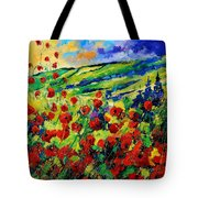 Poppies 78 Tote Bag