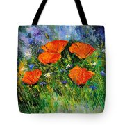 Poppies 79 Tote Bag