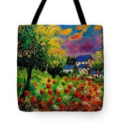 Poppies And Daisies 560110 Tote Bag