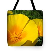 Poppies Art Poppy Flowers 4 Golden Orange California Poppies Tote Bag