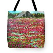 Poppies At Cedar Point Tote Bag