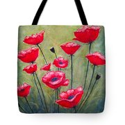 Poppies Field Tote Bag