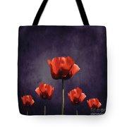 Poppies Fun 01b Tote Bag