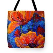 Poppies II Tote Bag