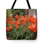Poppies In Springtime Tote Bag