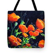 Poppies In The Light Tote Bag