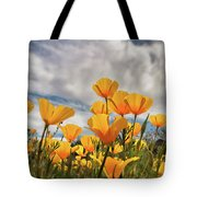 Poppies In The Wind Part Two  Tote Bag