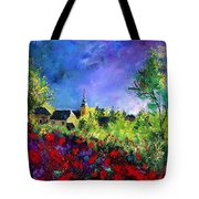 Poppies In Villers Tote Bag