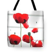 Poppies, Lovely Poppies Tote Bag