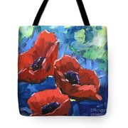 Poppies Splender Tote Bag