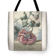 Poppies, Willem Van Leen, 1804 Tote Bag