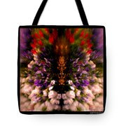 Popping Flowers Tote Bag