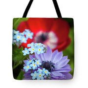 Poppy And Friends Tote Bag