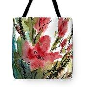 Poppy Blush Tote Bag