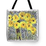 Poppy Bouquet I Pf Tote Bag