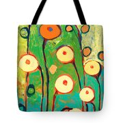 Poppy Celebration Tote Bag by Jennifer Lommers
