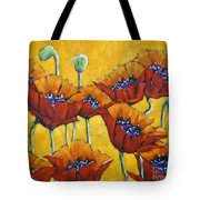 Poppy Craze By Prankearts Tote Bag