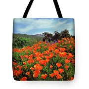 Poppy Explosion Tote Bag