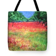 Poppy Field II Tote Bag