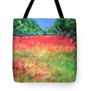 Poppy Field II Tote Bag