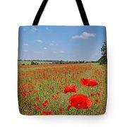 Poppy Fields 1 Tote Bag