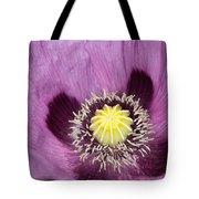 Poppy Flower Close Up Tote Bag