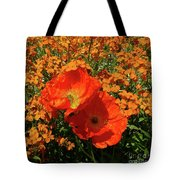 Poppy Glories Tote Bag