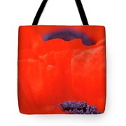 Poppy Heart I Tote Bag